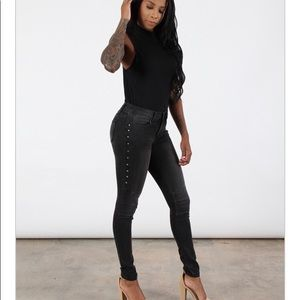 BBJ Lexa Studded Jeans